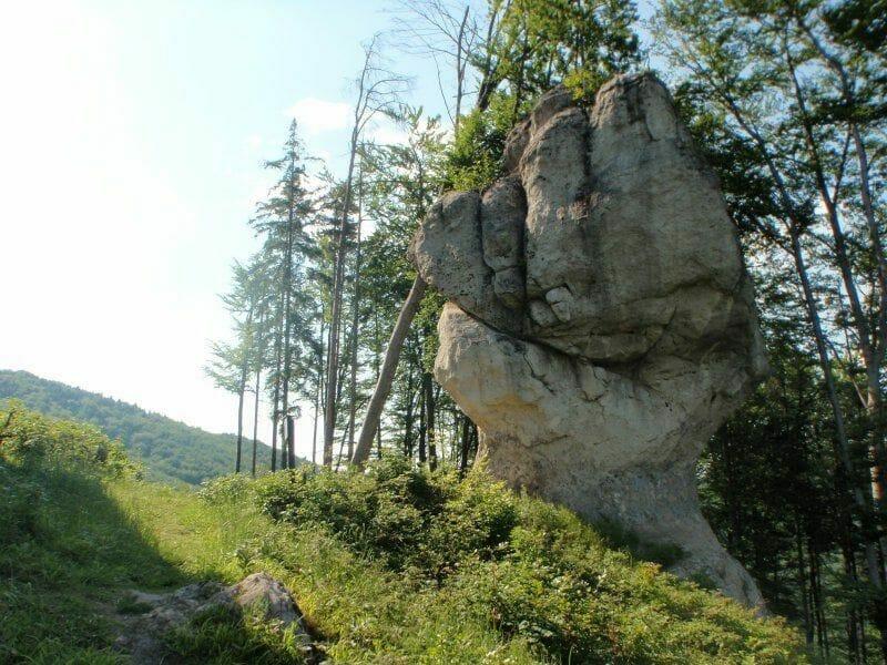 Celkový pohľad Stratený budzogáň nazývaný aj Zbýňovský