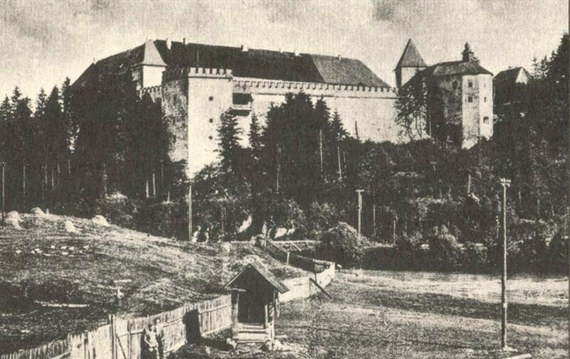 Vígľašský zámok, fotografia z roku 1935