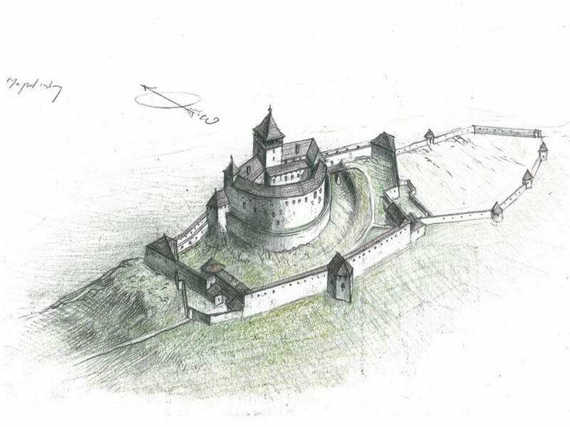 Zrúcanina Topoľčianskeho hradu
