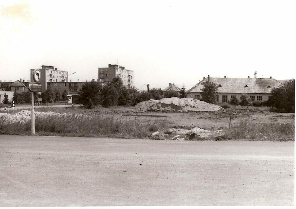 Pred výstavbou hotela Minerál