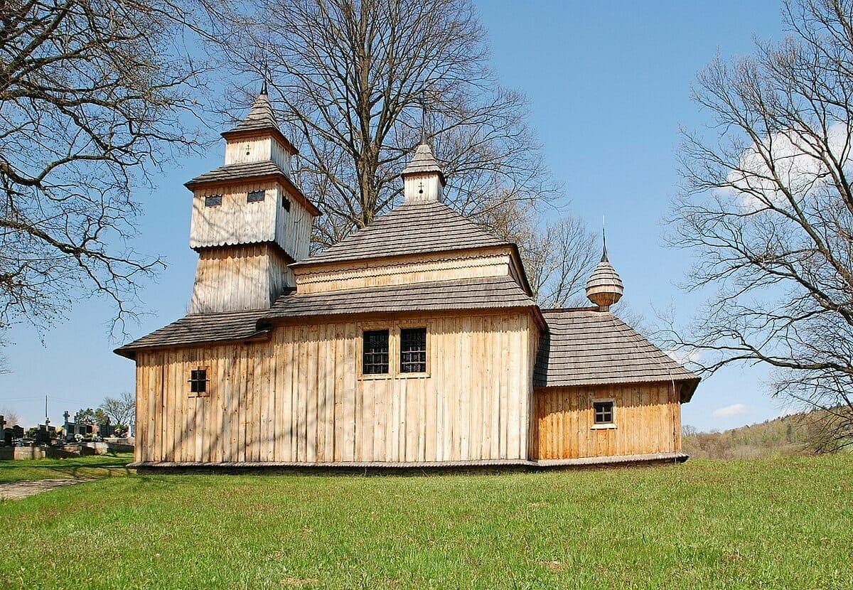 Drevený kostol v Kožanoch