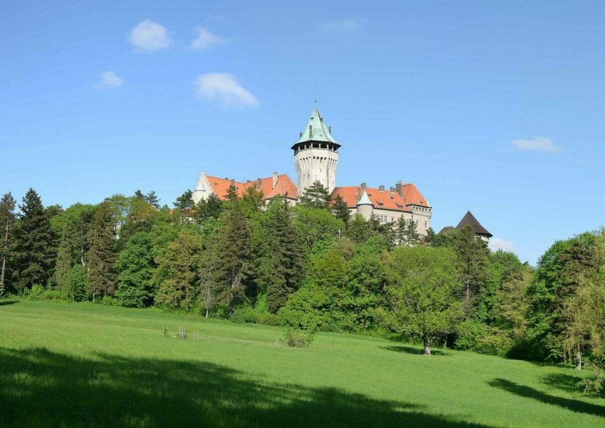 Veža Smolenického zámku