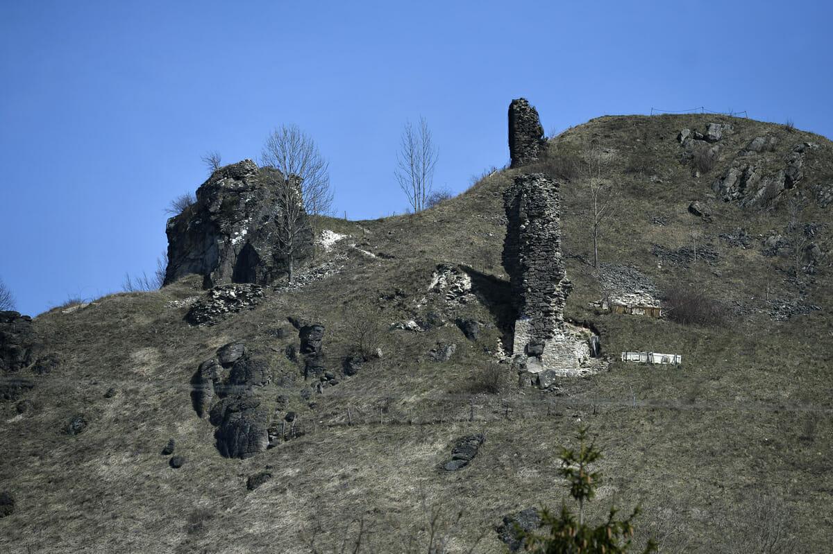 Ruiny hradu Sivý kameň