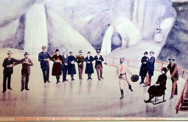 Z čias, keď sa v jaskyni ešte korčuľovalo