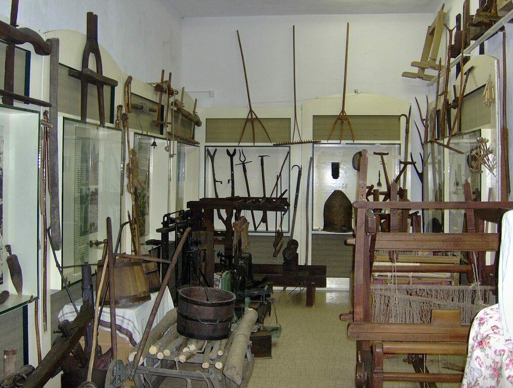 Expozícia Hontianskeho múzea