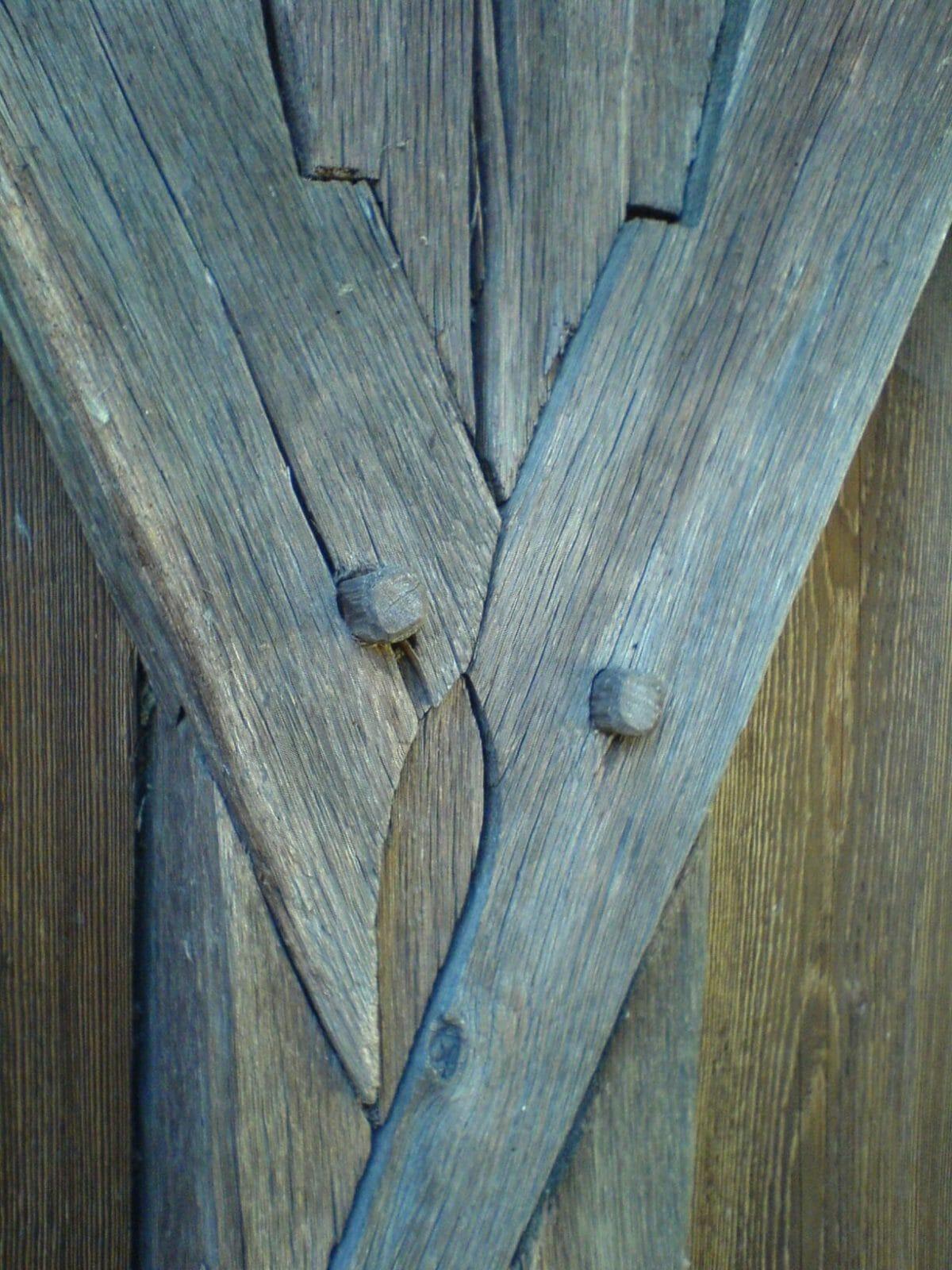 Drevený spoj – artikulárny spoj Hronsek