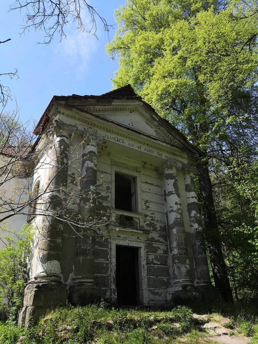Kaplnka Koháryovcov pod hradom Čabraď