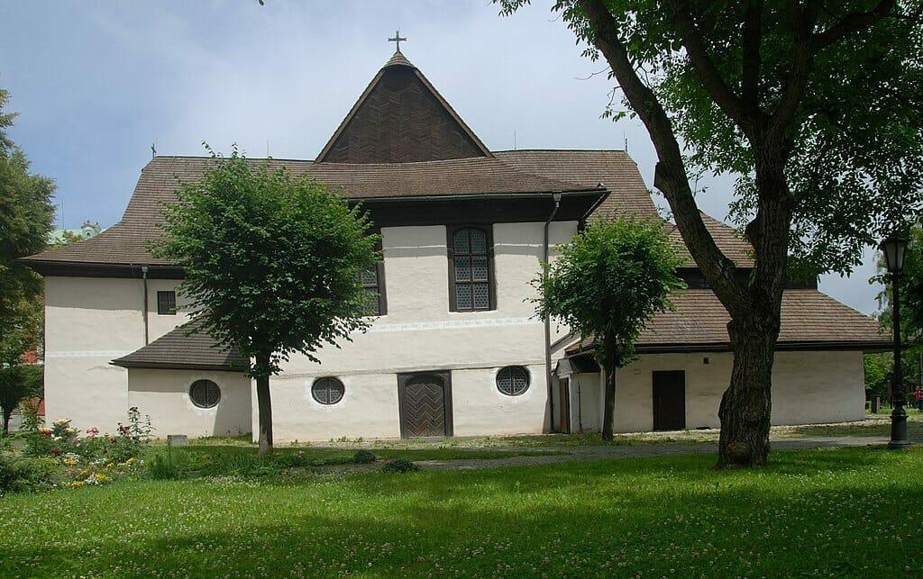 Drevený evanjelický kostol v Kežmarku, zapísaný do zoznamu UNESCO