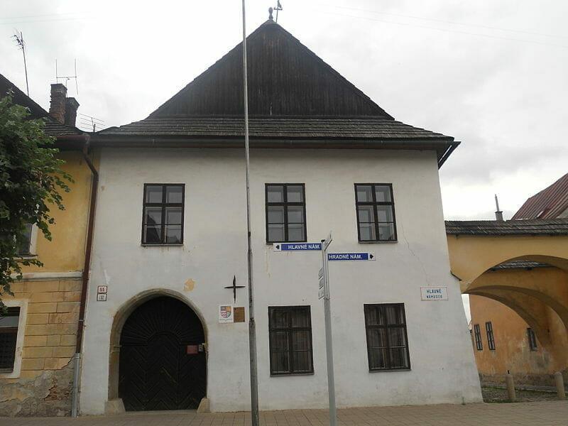 Dom na námestí v Kežmarku