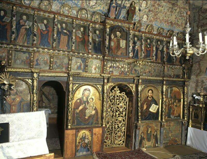 Kožany – interér kostola