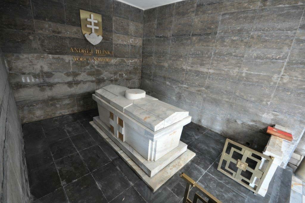Hrobka Andreja Hlinku v Mauzóleu