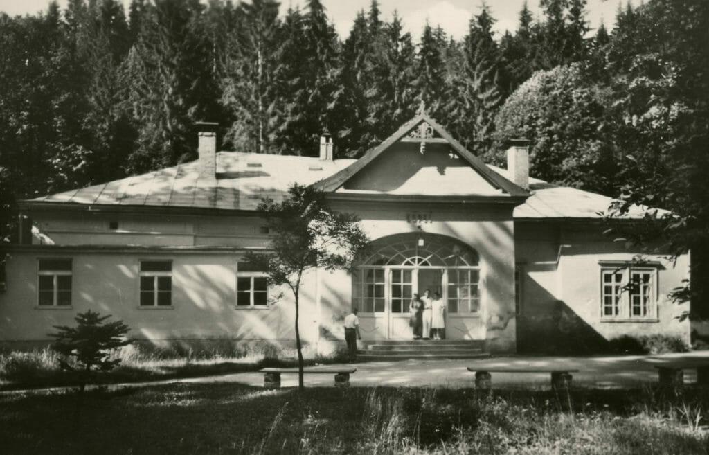 Historická fotografia Kúpele Lúčky