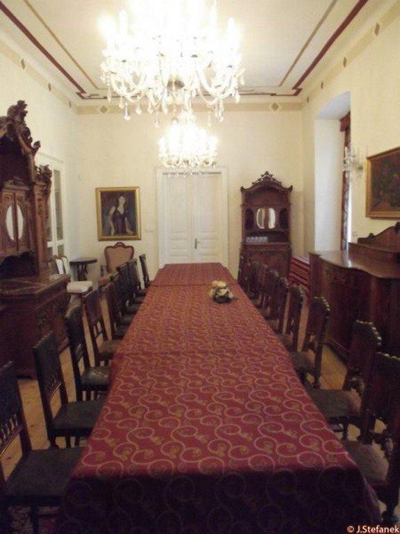 Interiér Kaštieľa v Liptovskom Hrádku