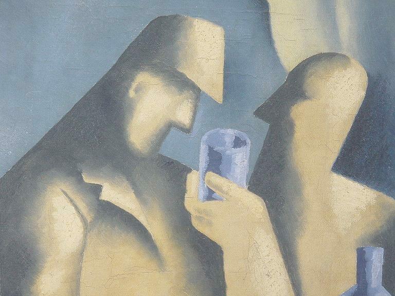 Pijani, Mikuláš Galanda, 1935 – 1936