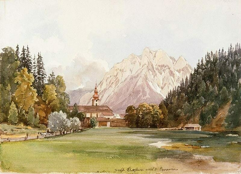 Kresba Červného kláštora