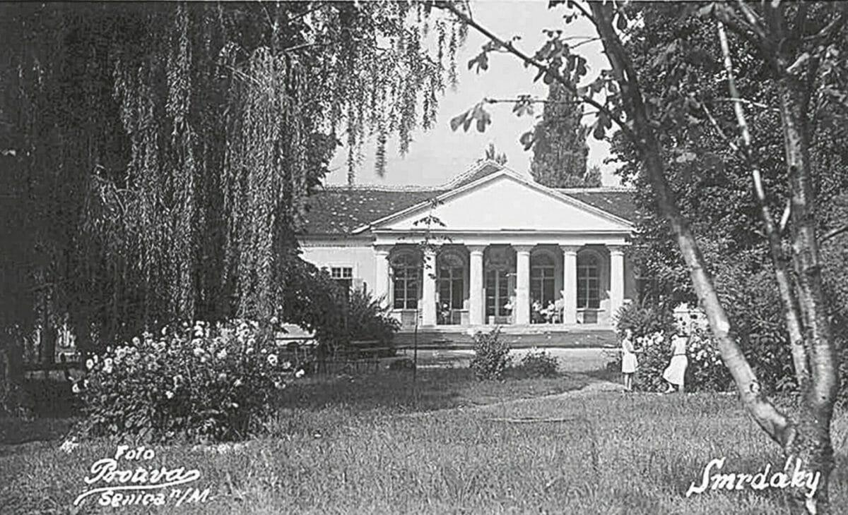 Historická kúpeľná budova